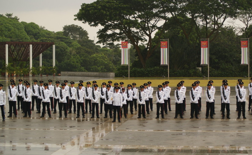 As a commissioned officer of the Singapore Armed Forces