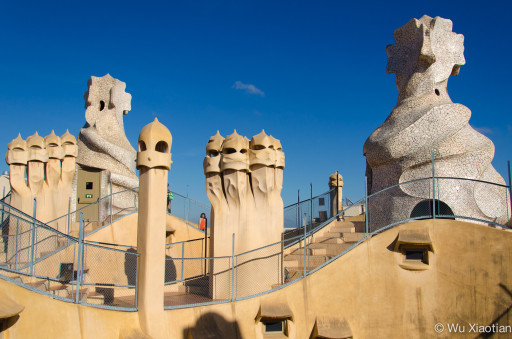 Rooftop Terrace of Casa Mila