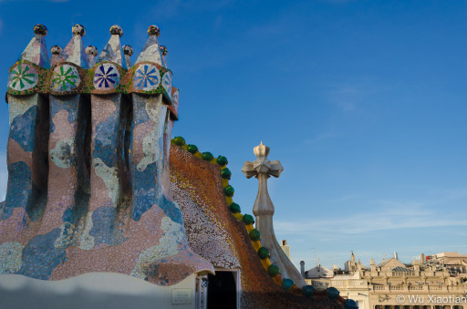 Rooftop of Casa Batllo