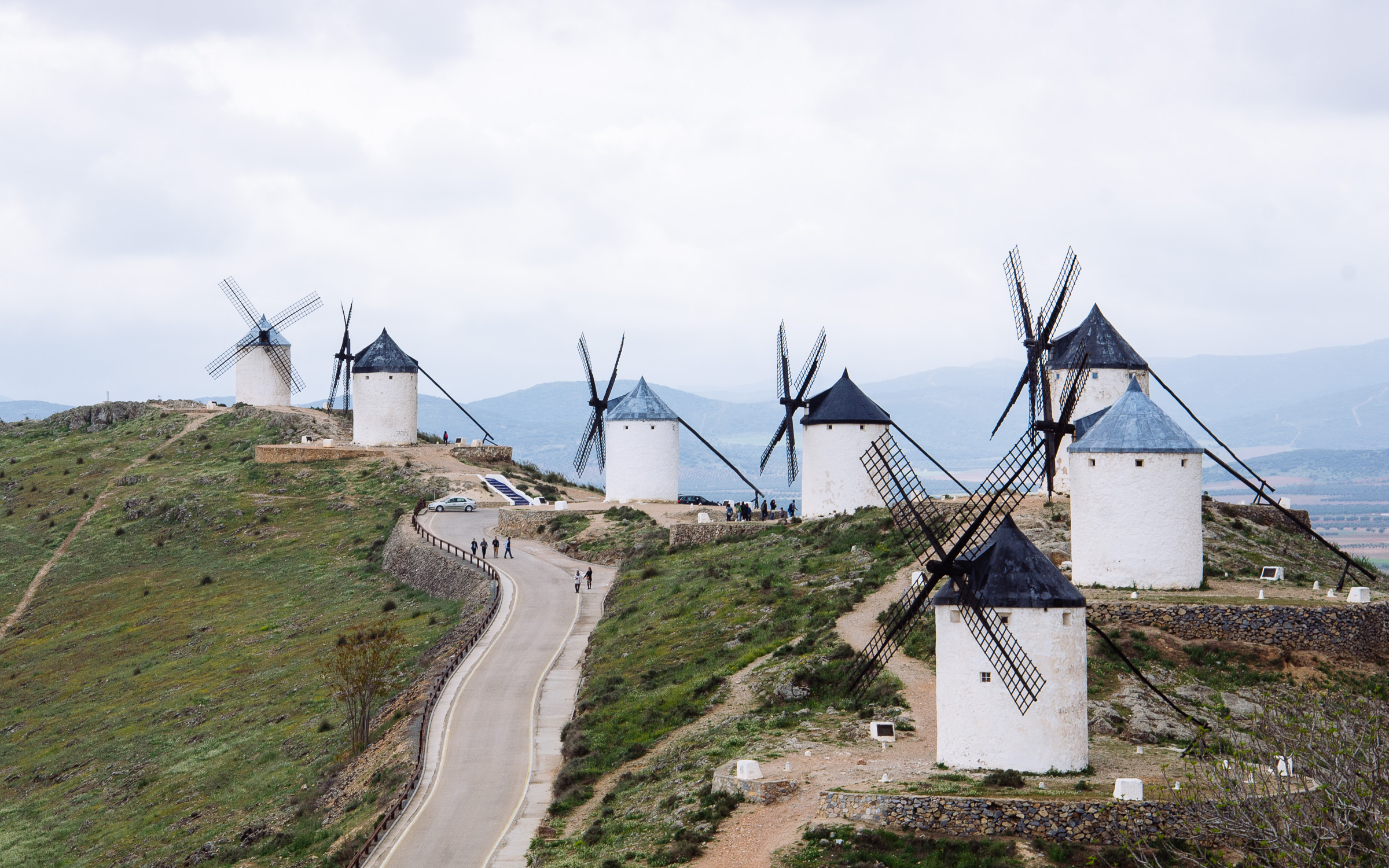 The Windmills of Castile La Mancha