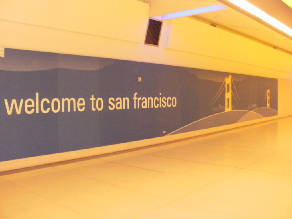 Welcome to San Francisco!